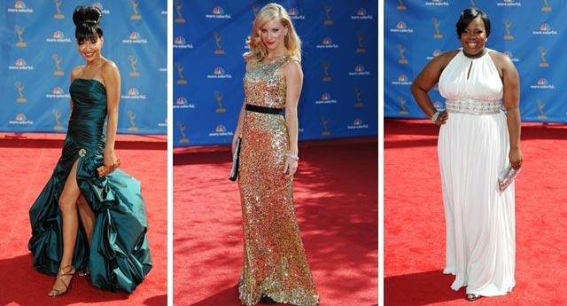 Glee girls... Naya Rivera, Heather Morris, Amber Riley