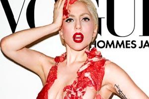 Lady Gaga meats up
