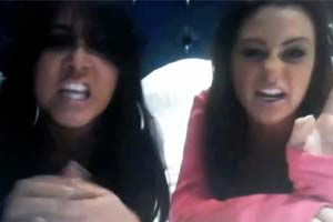 Snooki & JWoww take the piss out of Jersey Shore