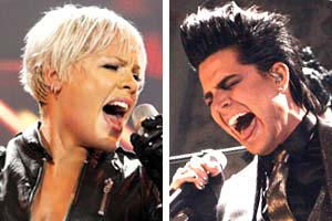 "Who does ""Whataya Want From Me"" better - Glambert or Pink?"