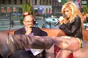 Ke$ha on Sunrise