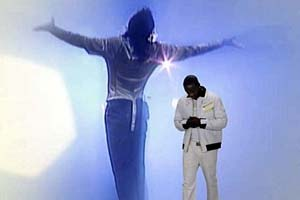 Michael Jackson and Akon