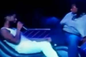 Usher kicked in the face by fan at New York concert