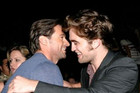 Hugh Jackman and Robert Pattinson