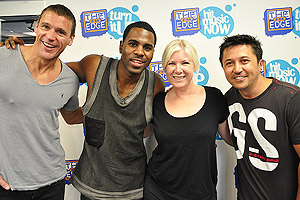Jason Derulo gives Jay-Jay a tan job