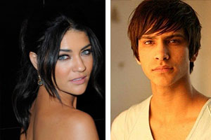 Jessica Szohr and Luke Pasqualino