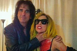 Alice Cooper and Lady Gaga