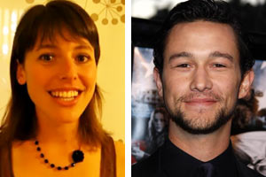 Joseph Gordon-Levitt and Lindsey Miller