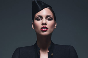 Alicia Keys surprises students at Alma Mater with instruments