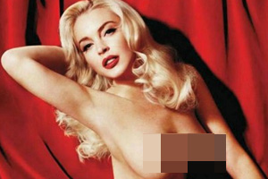 Lindsay Lohan's Playboy shoot (NSFW)