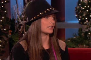 Paris Jackson gives her first interview to Ellen