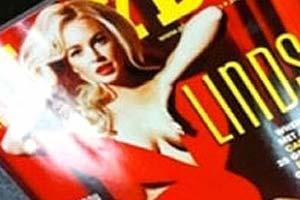 Lindsay Lohan Playboy cover leaked