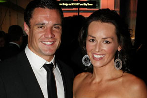 Dan Carter and Honor Dillon