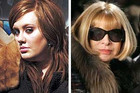 Adele and Anna Wintour
