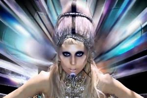 "Lady Gaga gives birth in ""Born This Way"" video"