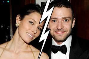 Justin Timberlake & Jessica Biel are over