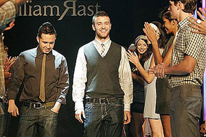 Justin Timberlake's clothing company honoured