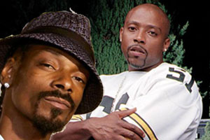 Snoop Dogg and Nate Dogg
