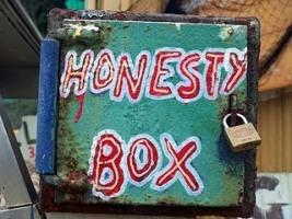 honesty box