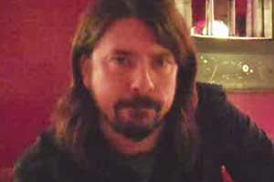 Dave Grohl's video message for Christchurch