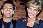Sir Elton John and Princess Diana