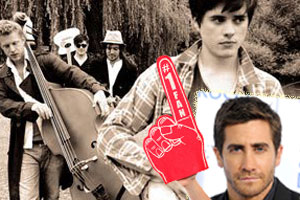 Mumford & Sons and Jake Gyllenhaal
