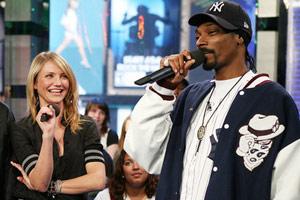Cameron Diaz and Snoop Dogg
