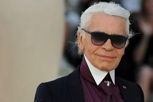 Designer Karl Lagerfeld makes directing debut
