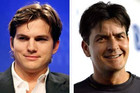 Ashton Kutcher and Charlie Sheen