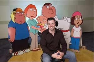 Seth MacFarlane, creator of Family Guy
