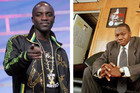 Akon and James Rosemond