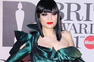 Jessie J has a broken foot