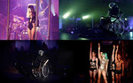 From Gaga's fan page, a mash-up of pics from her performance last night!
