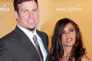 Vanilla Ice and his wife