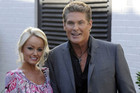 David Hasslehoff and Hayley Roberts