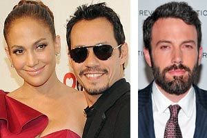JLo, Marc Anthony and Ben Affleck