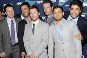 Entourage stars want Obama for movie