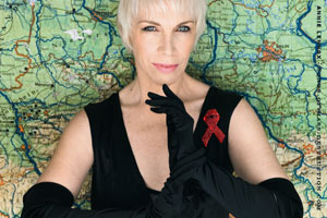Annie Lennox says order needs to be restored in the UK