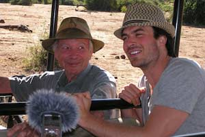 Ian Somerhalder and Allan Savory