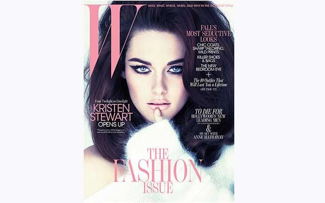 Kristen Stewart in W Magazine