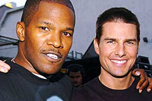 Jamie Foxx owes career success to canny Tom Cruise