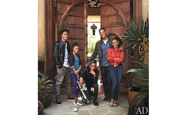 Will Smith and Jada Pinkett showed off their home in the new issue of  &quot;Architectural Digest&quot;, and it's amazing!