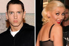 Eminem and Christina Aguilera