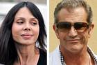 Oksana and Mel Gibson