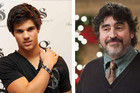 Taylor Lautner and Alfred Molina