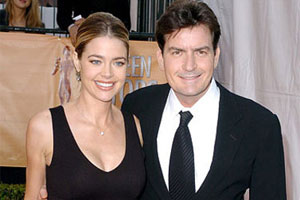 Denise Richards & Charlie Sheen