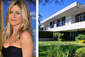 Jennifer Aniston's brand new mansion