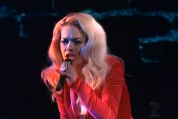 Rita Ora - RIP - Live in Australia on The X Factor