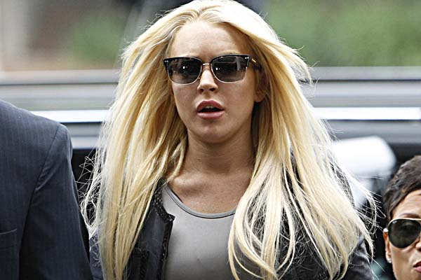 Cops called to Lindsay Lohan's house