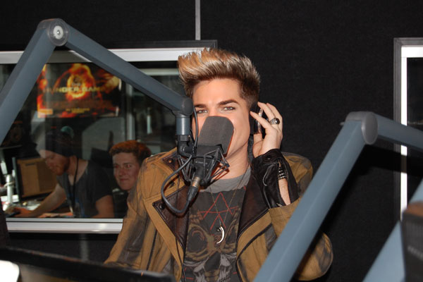 Adam Lambert at The Edge: Photos